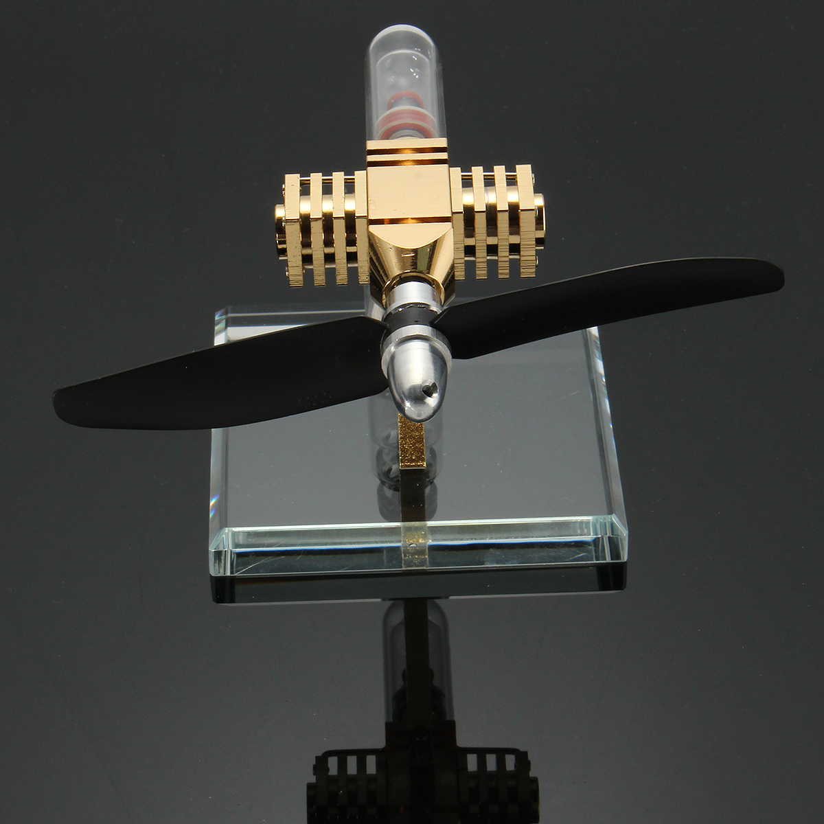 Aircraft Hot Air Engine Power Generator Engine Innovative Stirling Engine Science Toys New Version