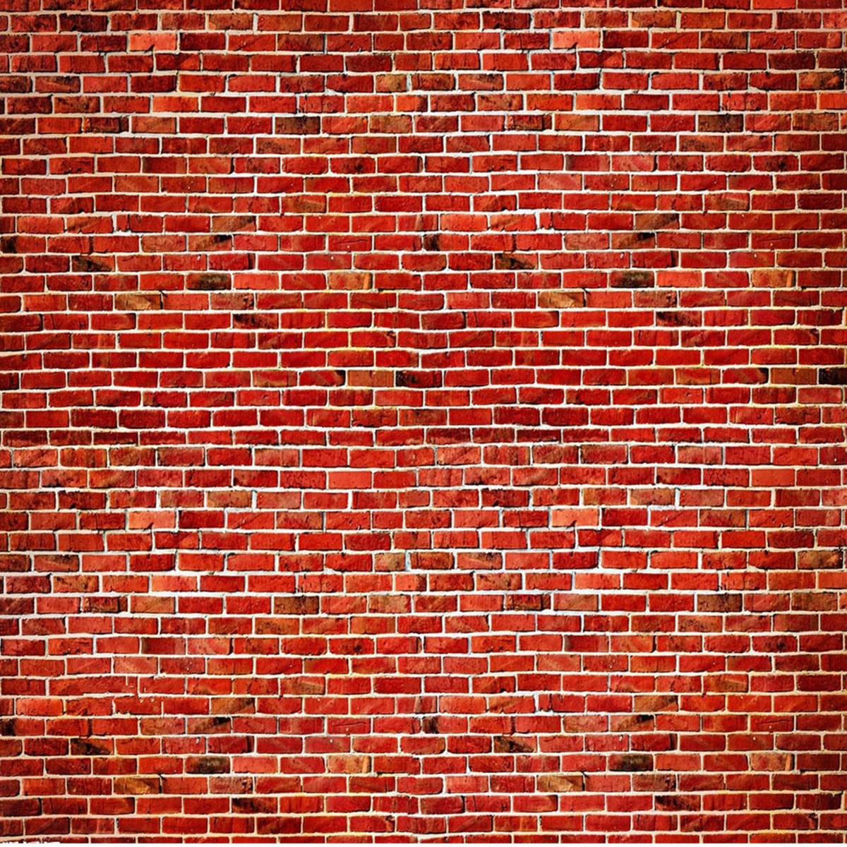 10X10FT Vinyl Red Brick Wall Photography Background Backdrop Studio Photo Prop