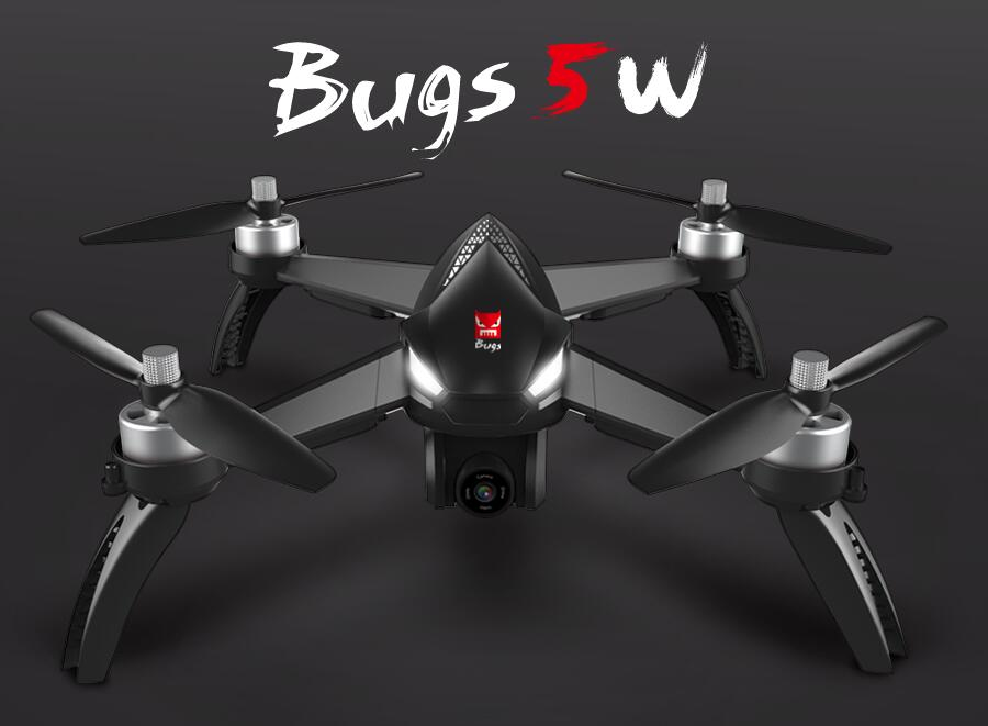 MJX Bugs 5 W B5W 5G WIFI FPV With 1080P Camera GPS Brushless RC Drone Quadcopter RTF