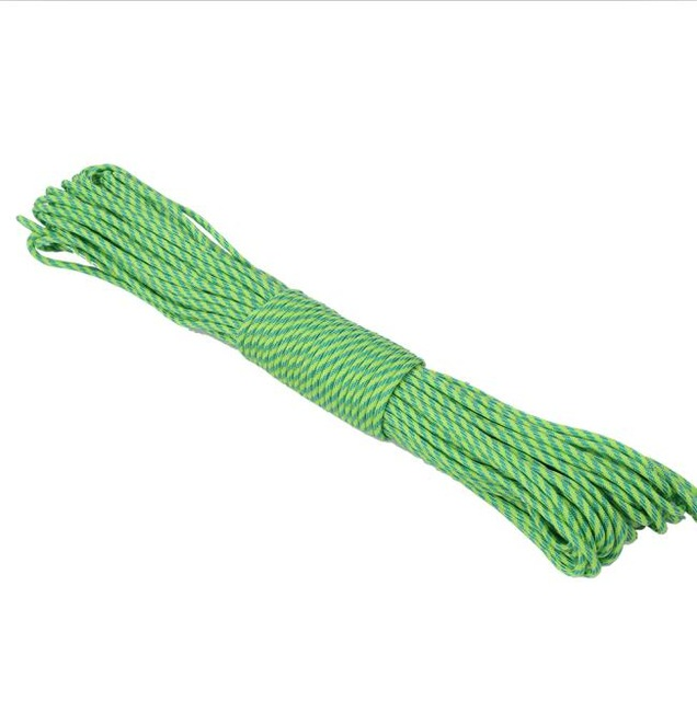 IPRee® 330FT 550lb Mix-color Nylon Parachute Cord String Rope Outdoor Camping Hiking Tools