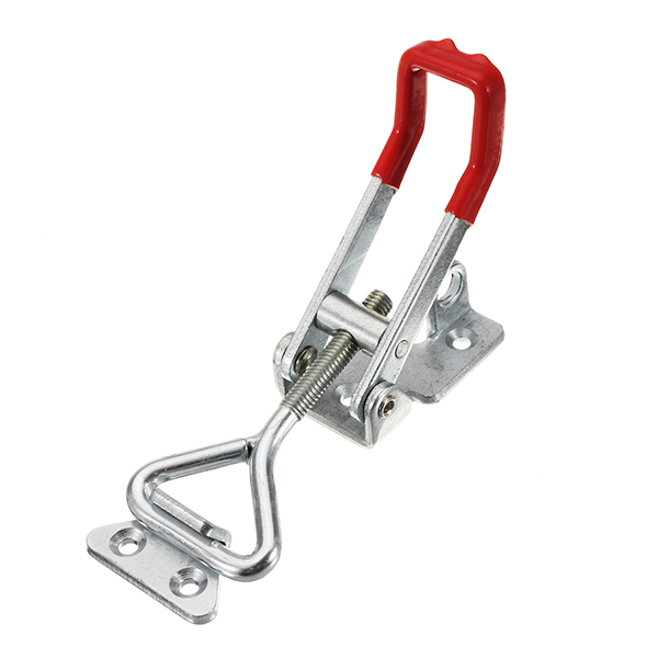 300Kg/661Lbs Quick Latch Type Toggle Clamp Catch Adjustable Lever Handle