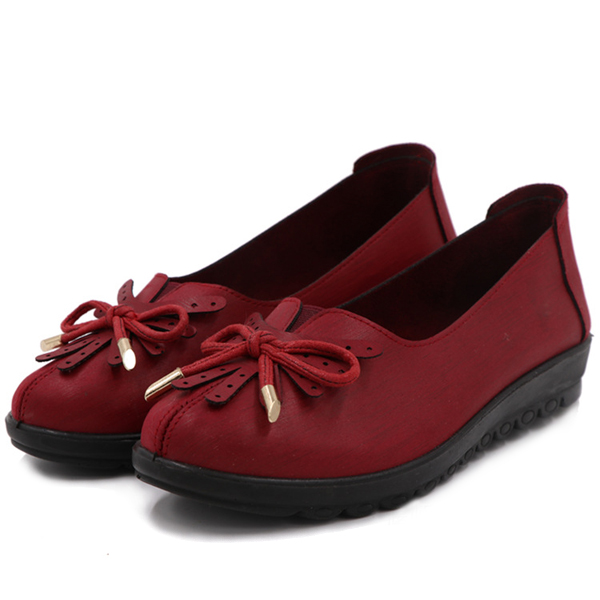 Flat Shoes Women Casual Soft Low Top Loafers