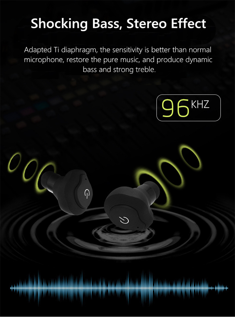 Bakeey™ TWS Truly Wireless Mini Stealth Multi-point Connection Waterproof bluetooth Earphone