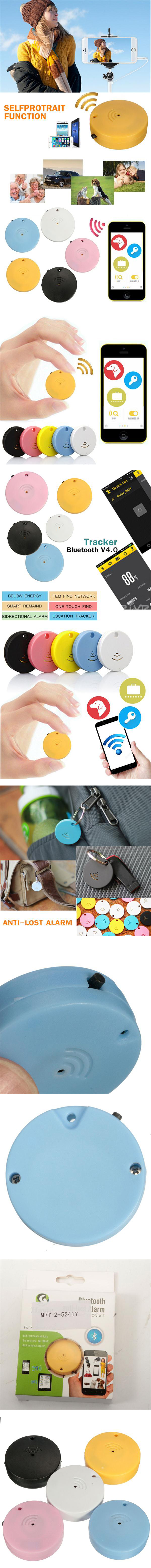Kids Smart Anti Lost Alarm bluetooth Selfie Tracker Locator Tracking Key Finder