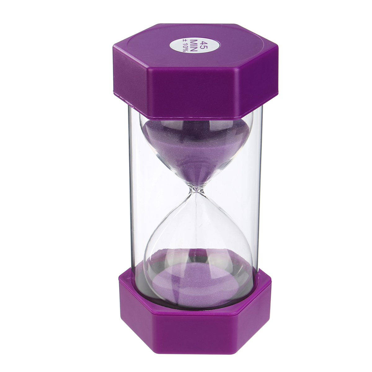 45min 16cm Drop Resistance Sand Glass Timer Hexagonal Hourglass Clock Decorations Gift