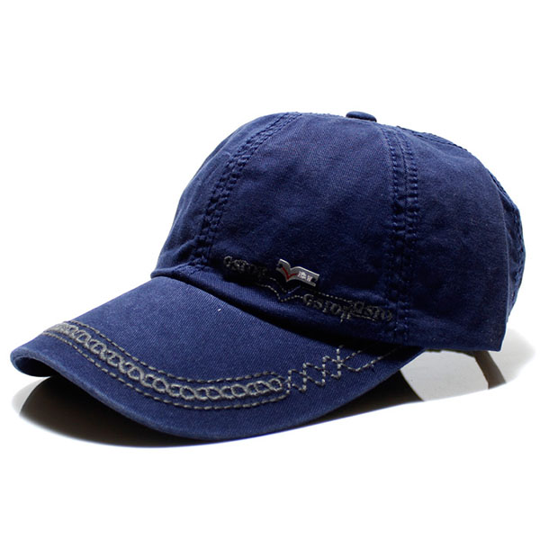 Mens Cotton Washed Baseball Cap Solid Sport Casual Duck Hat