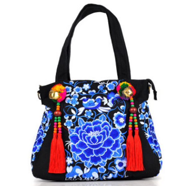National Style Fashion Bag Embroidery Bag Handbag For Women