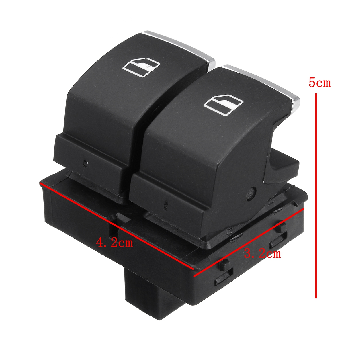 Driver Side Electric Power Window Control Switch For VW Golf EOS MK5 MK6 2 Door