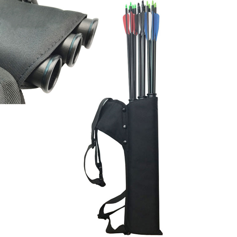 3 Tubes Arrow Quiver Backpack Arrow Holder Cave Hunting