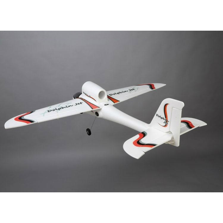 Dolphin Jet 1010mm Wingspan EPO RC Airplane Glider With Landing Gear KIT - Photo: 2