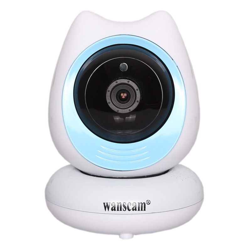 WANSCAM HW0048 Motion Detection 720P Wifi Security IP Camera Support ONVIF Protocol 128G TF Card