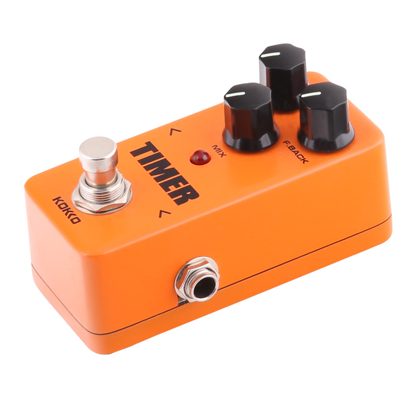 KOKKO FDD2 Timer Delay Electric Guitar Effect Pedal Musical Instruments Accessories