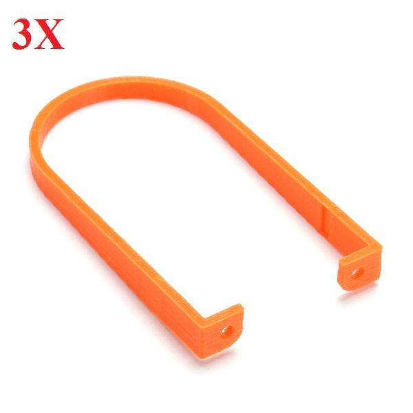 3pcs Antenna Guard Protection Cover Orange For Eachine QX90 FPV Camera