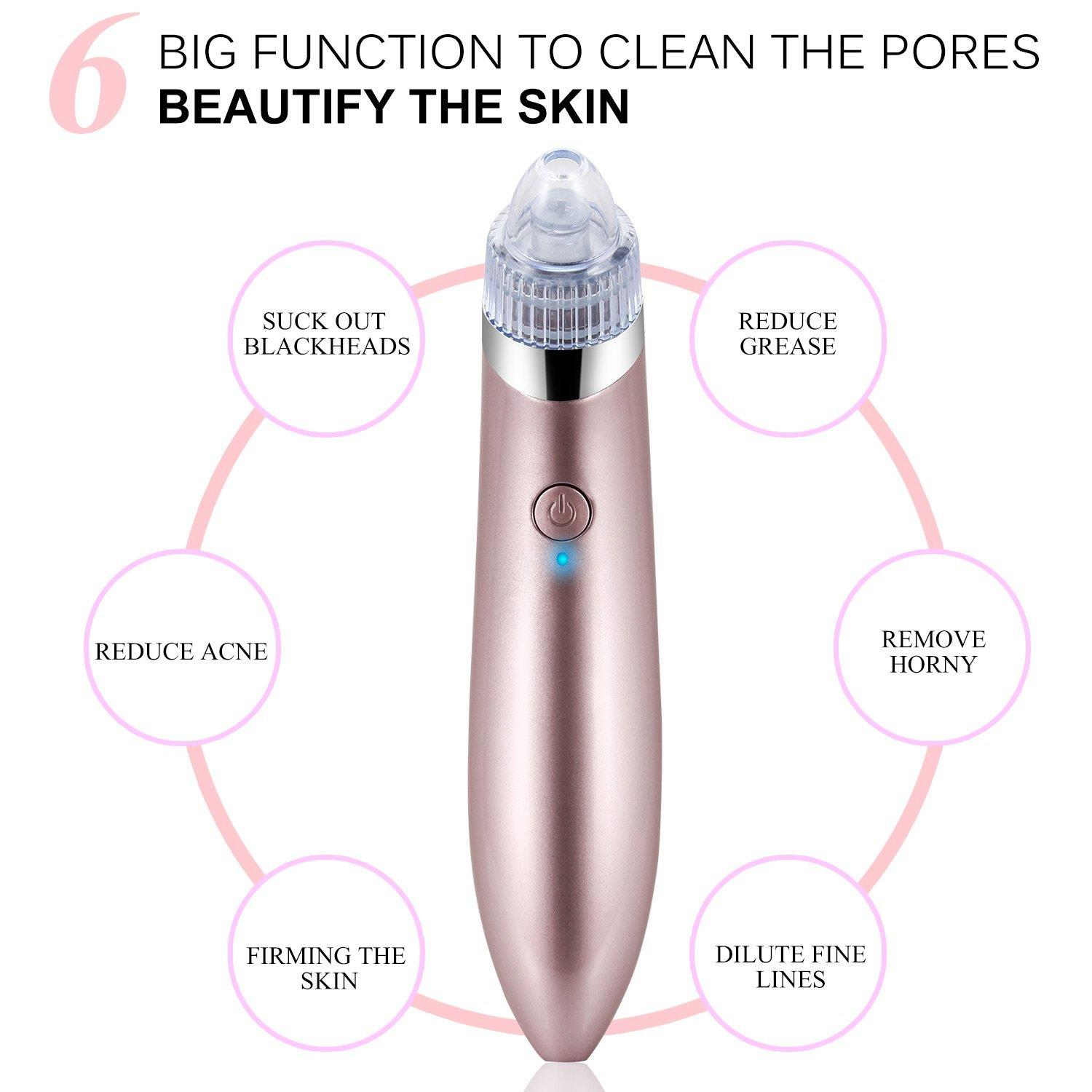 Electric Blackhead Suction Tool Pore Cleanser Vacuum Device