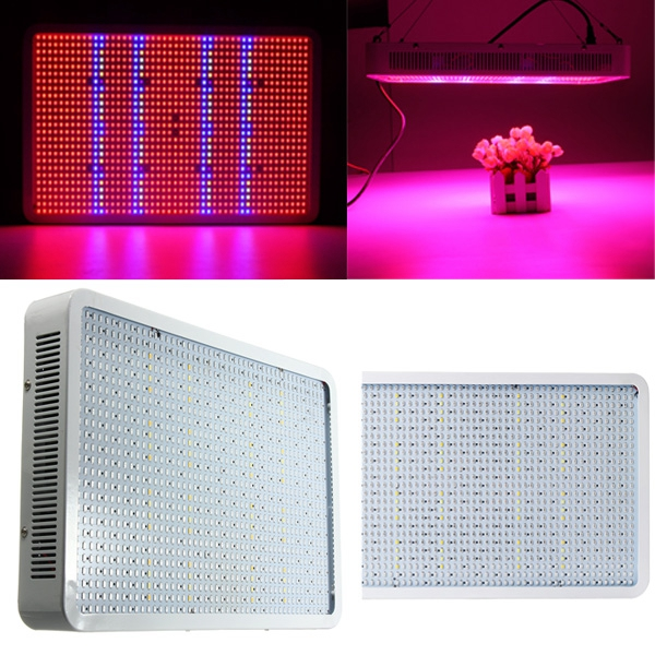 1200W Full Spectrum LED Grow Light Veg Flower Hydroponics Indoor Plant Lamp Panel