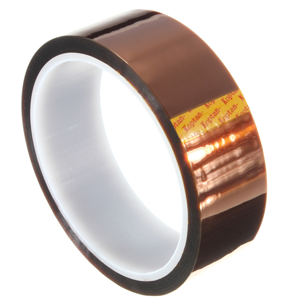 30mm 33m High Temperature Heat Resistant Polyimide Gold Protective Tape