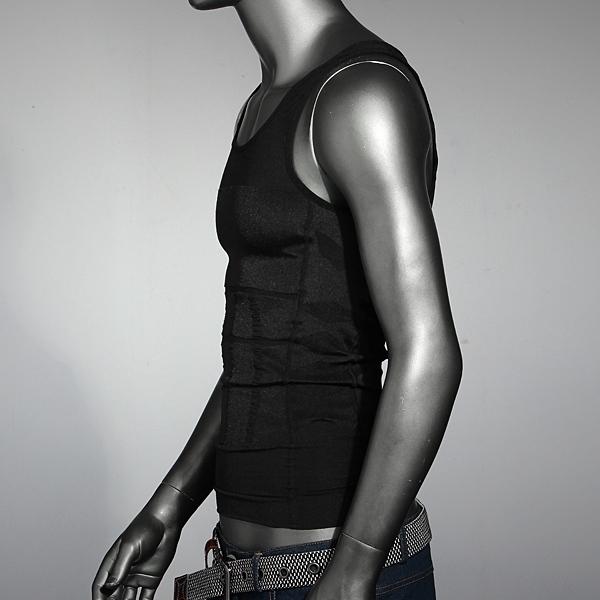 Men's Belly Body Shaper Vest Shirt Corset Underwear Belt