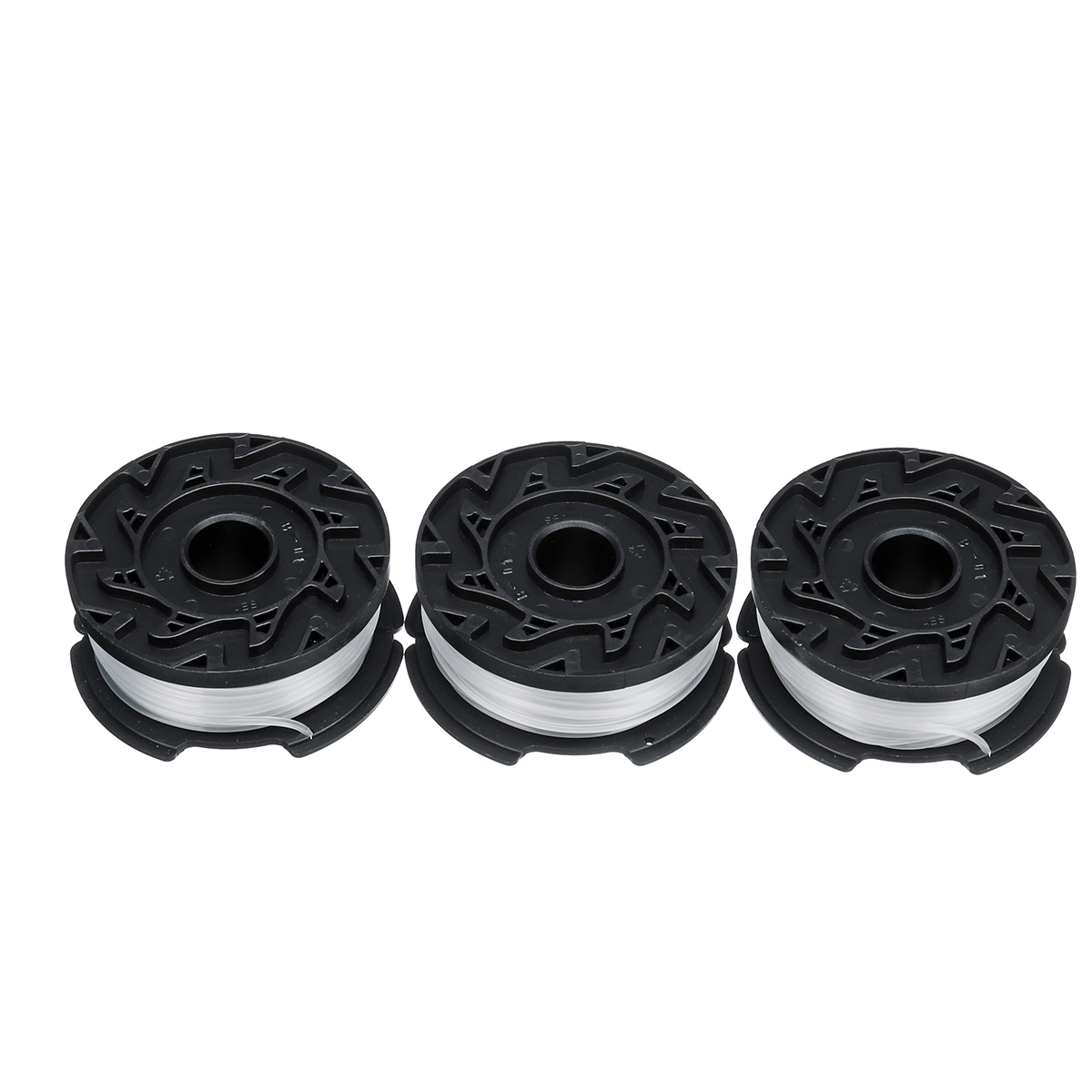 3pcs 30ft 0.065Inch Spool Lines For Black+Decker AF-100 Grass Trimmer Replacement Tools Kit