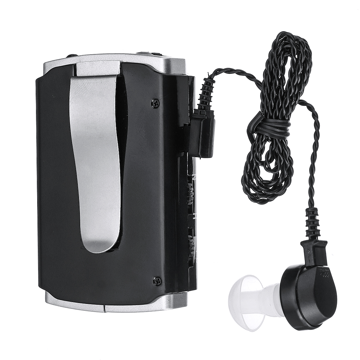Personal Sound Amplifier Voice Enhancer Device Personal Audio Amplifier Pocket Hearing Devices Hearing Assistance