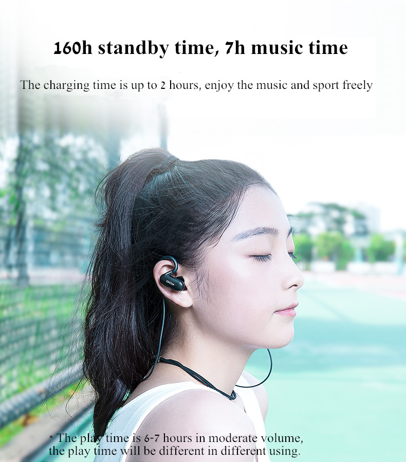 Xiaomi QCY QY31 Sport Ear Hook Light Weight IPX4 Waterproof Wireless bluetooth Earphone Headphone