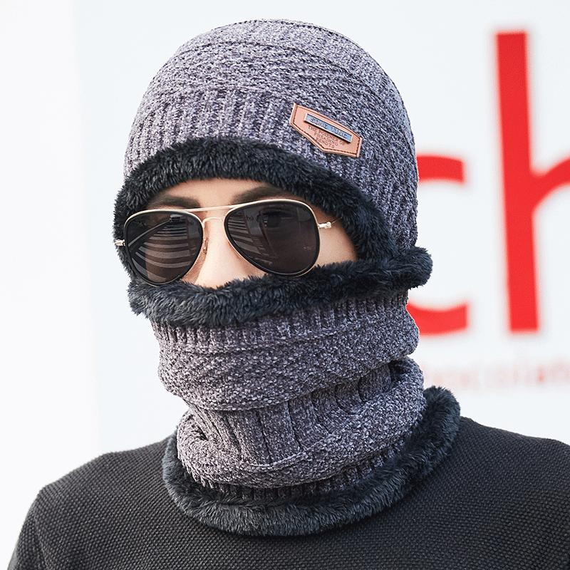 80d0250c16e Other Men s Accessories - Men Winter Windproof Knit Hat Brimless ...