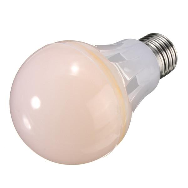 E27 10W COB Globe Light Bulb Warm White/White Non-dimmable 85-265V