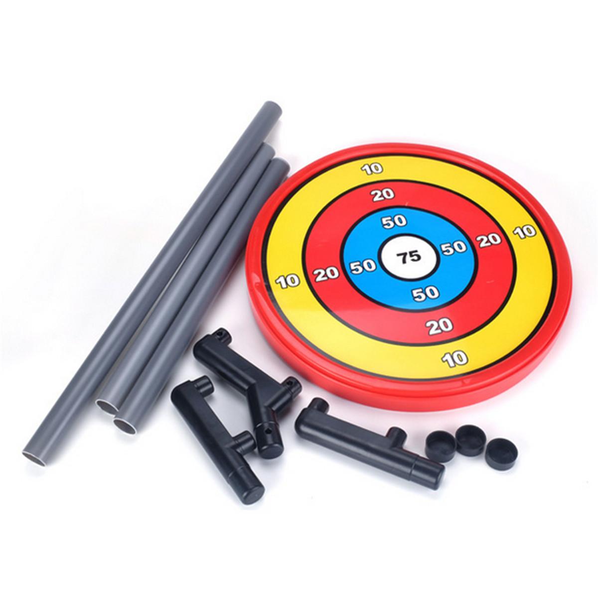 58cm Children Kids Toy Bow & Arrow Archery Target Shooting Set Outdoor Garden Fun Game