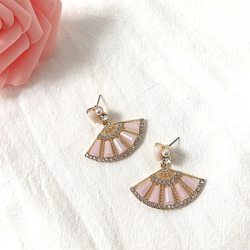 Elegant Rhinestones Dangle Earring Jewelry for Women