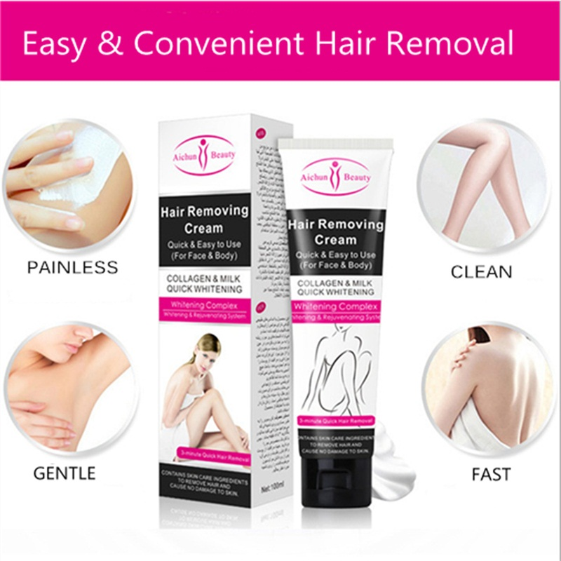 Unisex Full Body Permanent Depilatory Cream Hair Removal