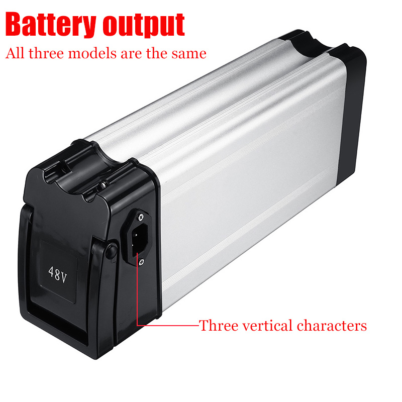 BIKIGHT Electric Battery Storage Box Case E-bike Box Holder For 18650 36V/48V Battery