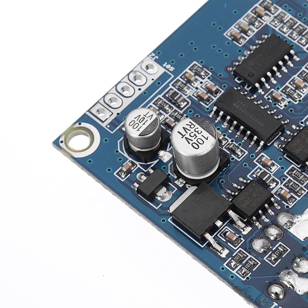 DC 12V-36V 15A 500W Brushless Motor Controller BLDC Driver Board With Stall Over-current Protection Supports Hallless Motors