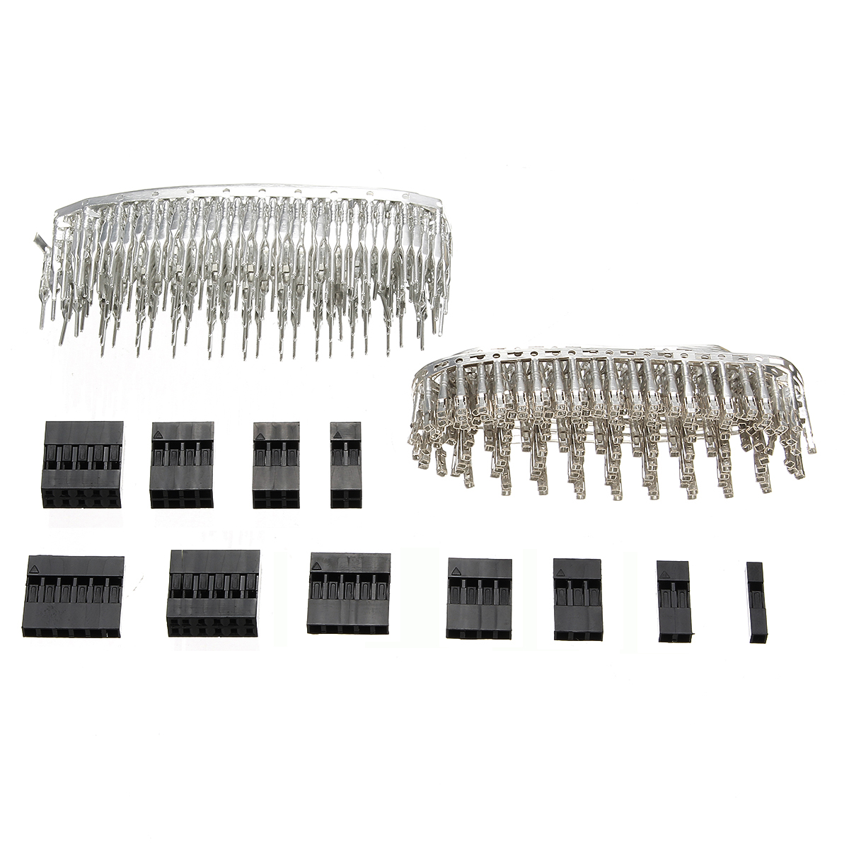 Excellway® TC10 620pcs Wire Jumper Pin Header Connector Housing Kit For Dupont and Crimp Pins