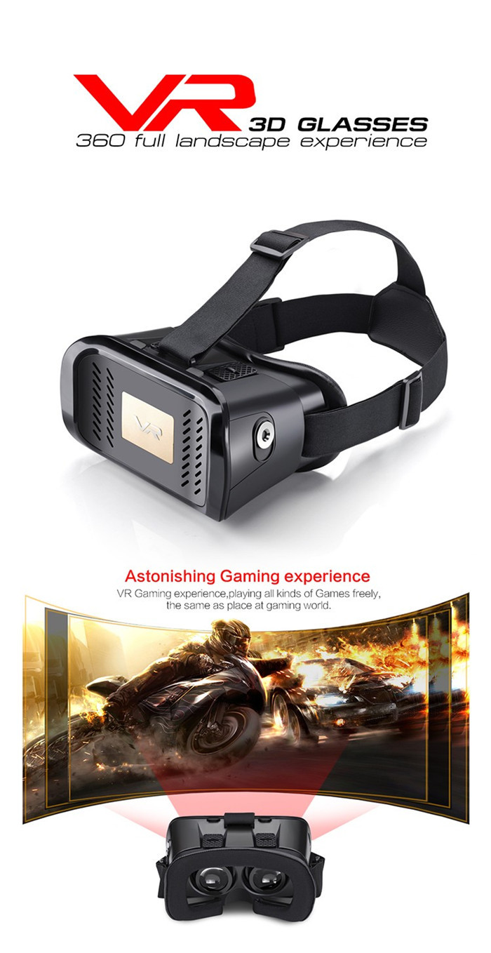MV100 VR Virtual Reality 3D Glasses Head Mount Helmet Google Cardboard Magnet Movie Games for Iphone Android Mobile Phone