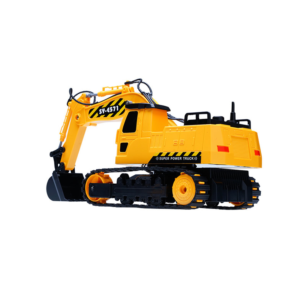 Double Eagle E571-003 1/26 2.4G 8CH 35cm Rc Car Engineering Excavator Truck Model Machinery Toy