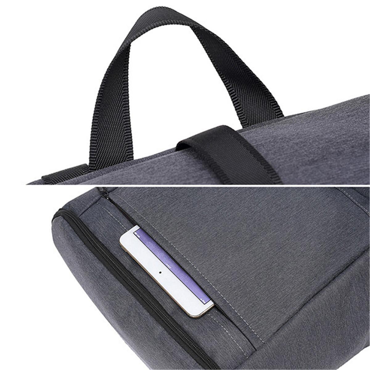 Oxford Large Capacity 17 Inches Laptop Bag USB Charging Bag