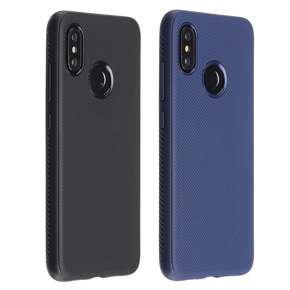 bakeey shockproof comfortable soft silicone protective case for xiaomi mi 8 mi8