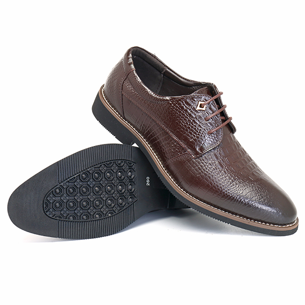 Men Leather Pointed Toe Business Dress Shoes