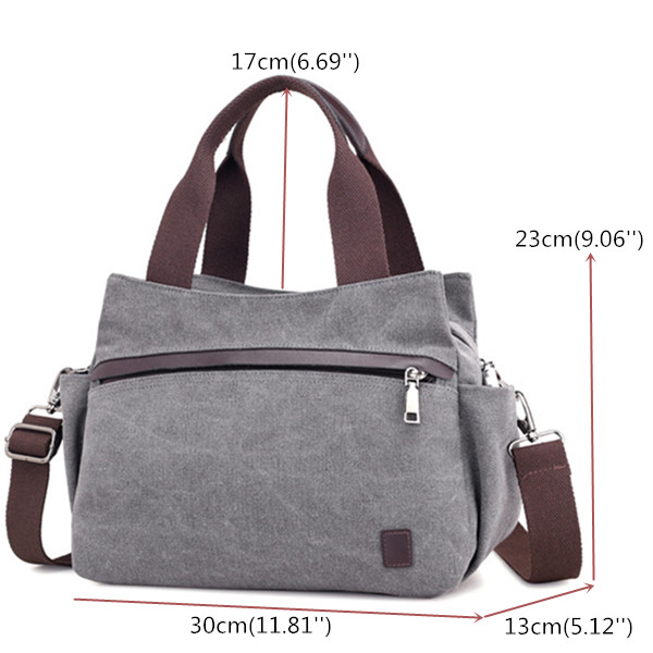 KVKY Women Canvas Tote Handbags