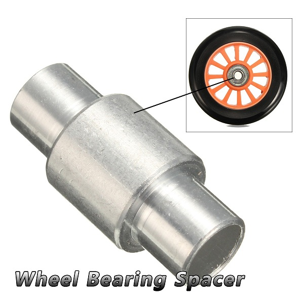 1 Pieces Aluminum Wheel Bearing Spacers Skateboard Scooter Quad Roller InliIne Skate