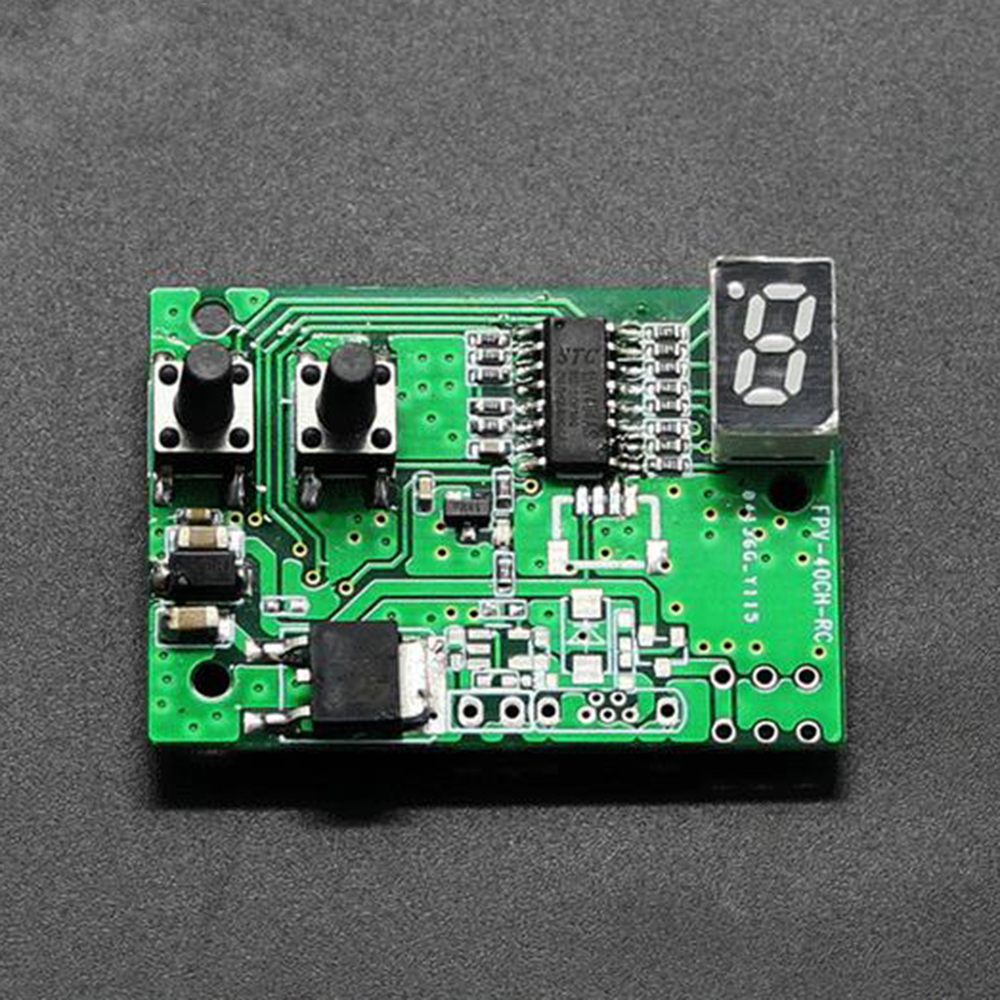 5.8G 72CH FM -85dBm Dual Filter FPV Receiver Module for RC Drone FPV System - Photo: 2