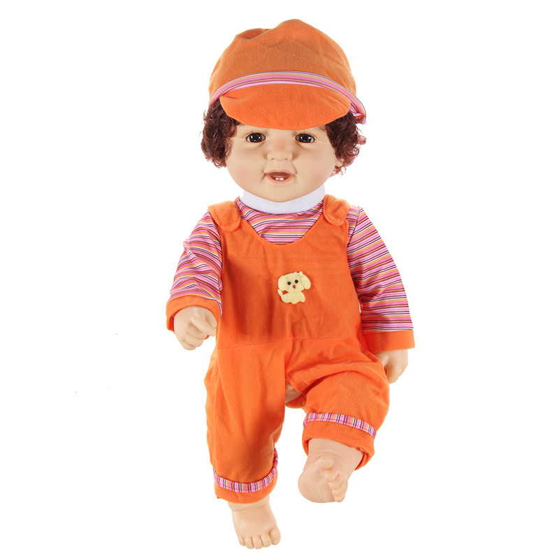 Reborn Doll 50CM Full Silicone Vinyl Body Children Play House Toys Bebe Gift Dolls Action Figure