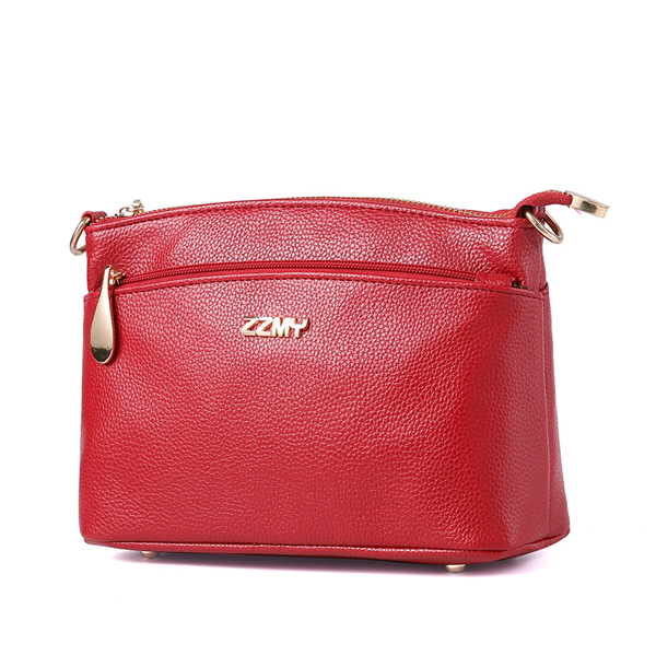 Women PU Casual Crossbody Bag Elegant Evening Bag Shoulder Bag