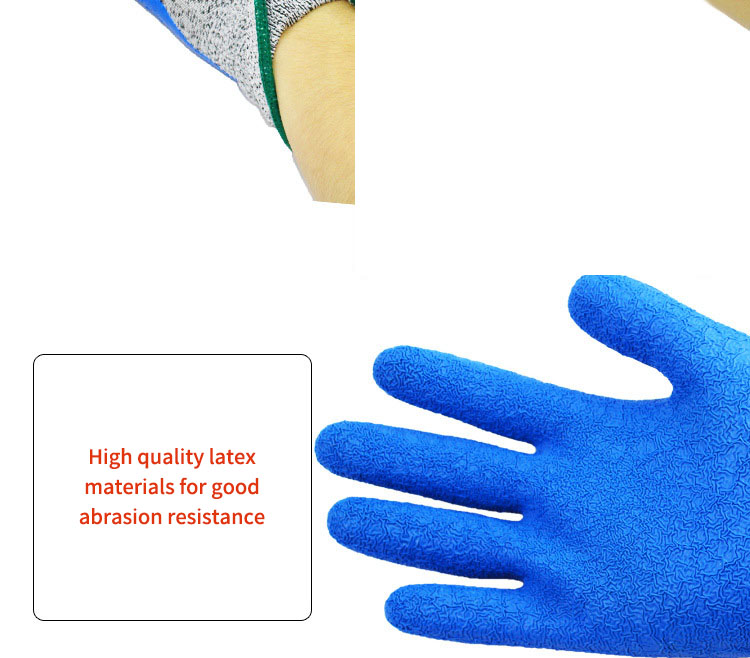 Gardening Protective Gloves Wear-resistant Antiskid Breathable Universal Plam Coating Glove