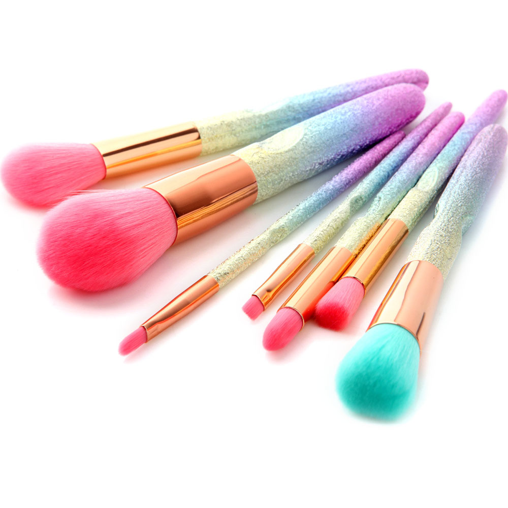 7Pcs 3D Makeup Brushes