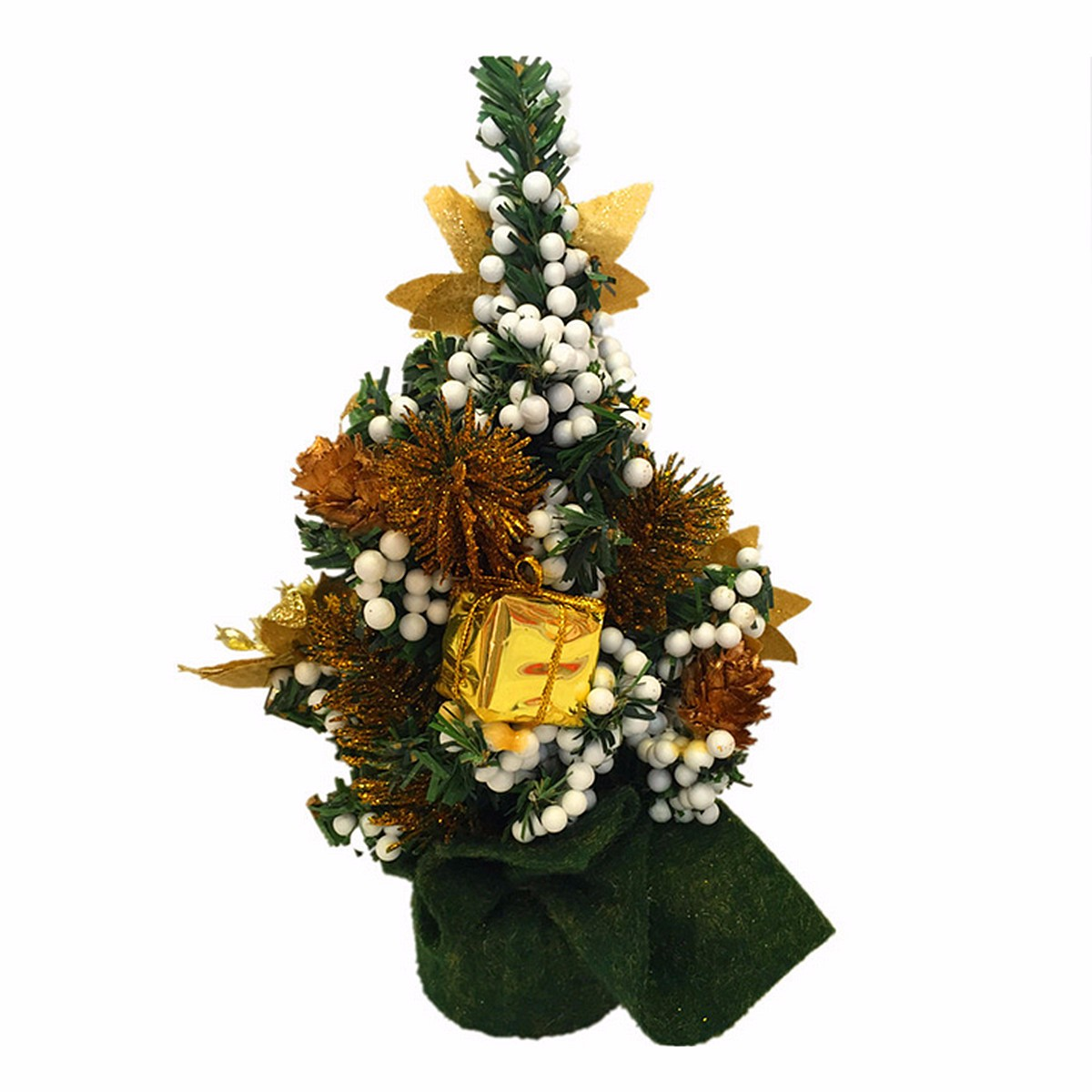 Mini Christmas Xmas Tree Desk Table Decoration Ornament