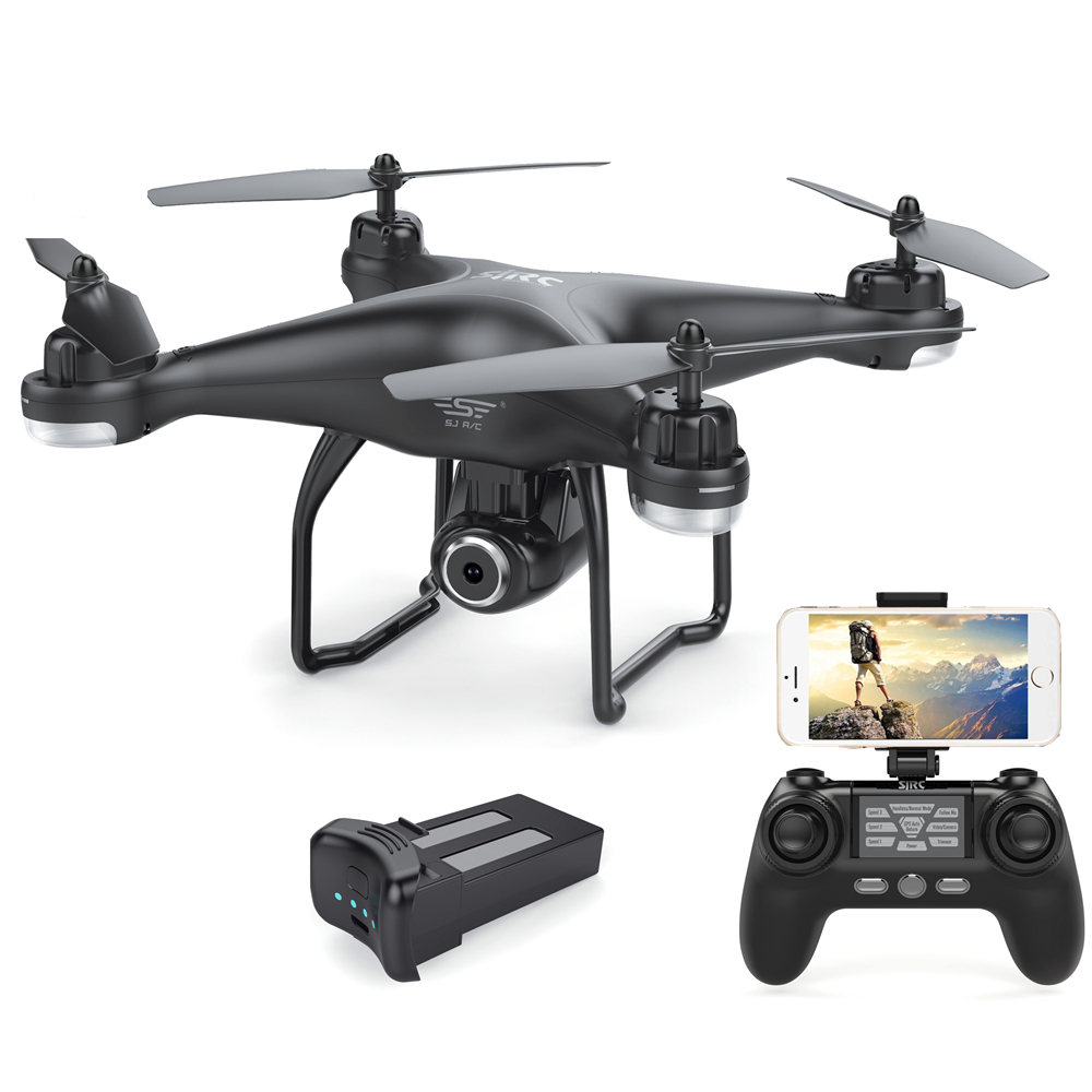 S-SERIES S20W Double GPS Dynamic Follow WIFI FPV With 1080P Wide Angle Camera RC Drone Quadcopter