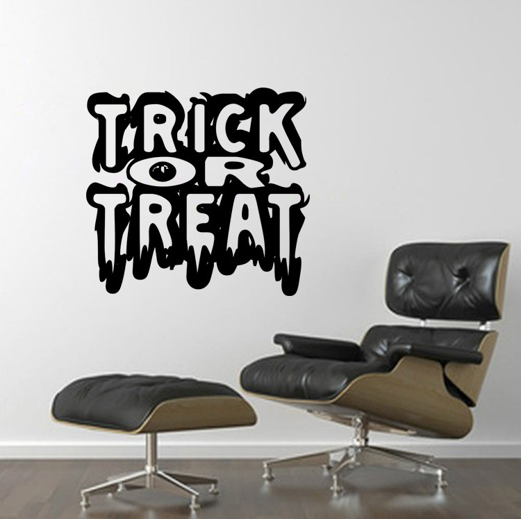 KST-1 Halloween PVC Wall Stickers Living Room Bedroom Decoration Wall Stickers