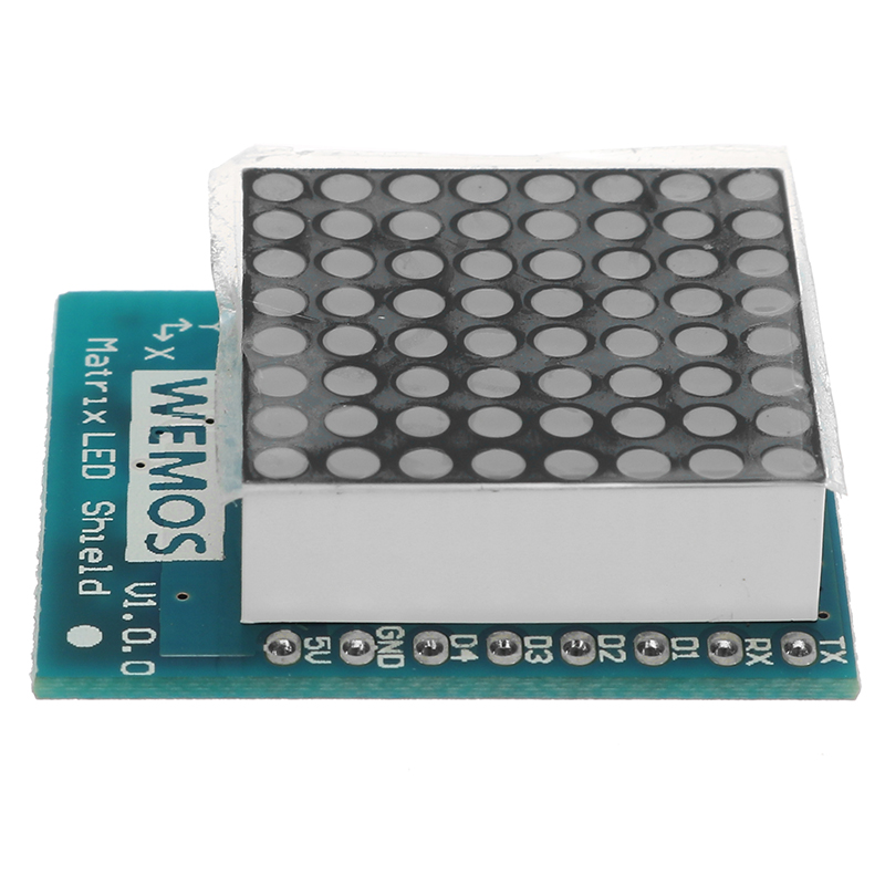 3Pcs Wemos® Matrix LED Shield V1.0.0 For WEMOS D1 Mini