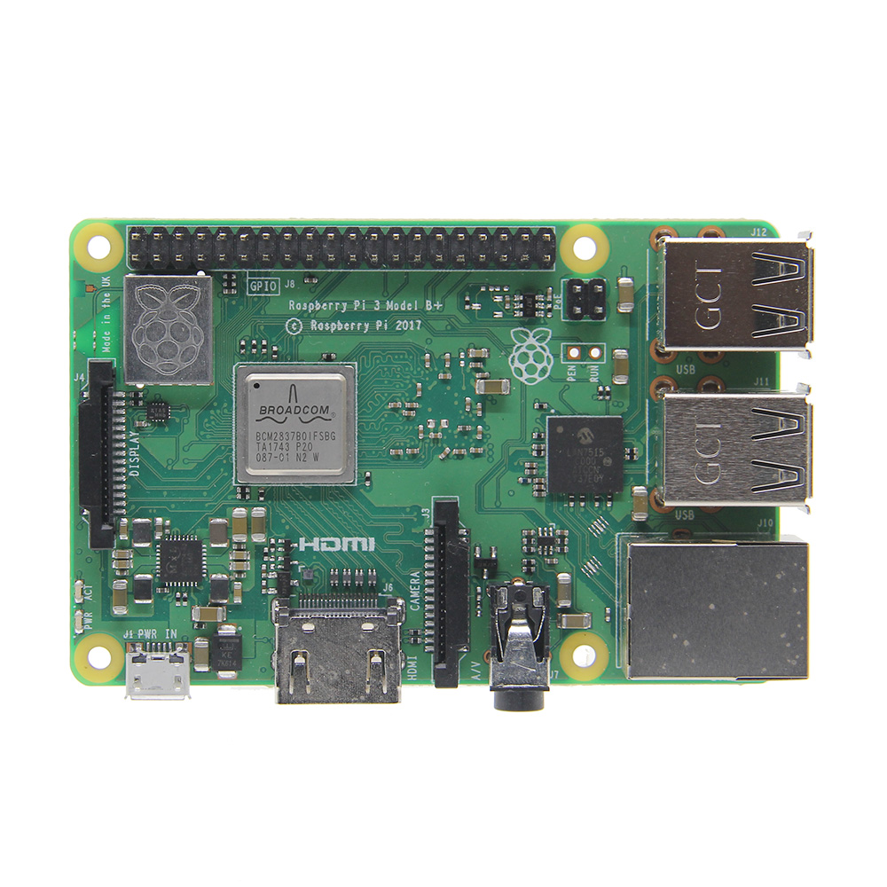 Raspberry Pi 3 Model B+ (Plus) Mainboard