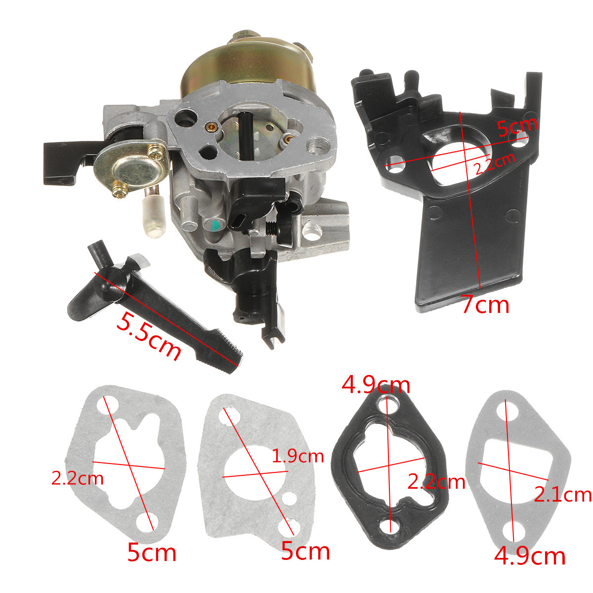 Carburetor Carb With Gasket For Honda GX160 5.5 HP Gas Engine